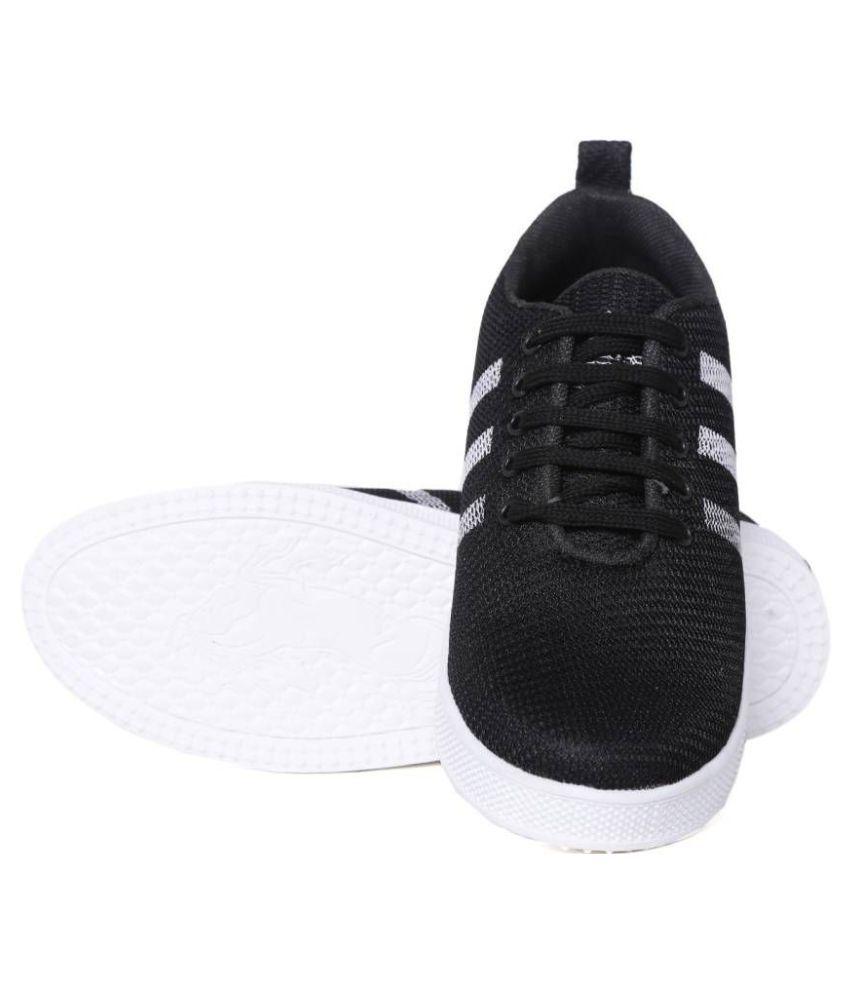 a50fdd5d3656 BLACK SAVAN SNEAKERS Espradrilles Black Casual Shoes - Buy BLACK ...