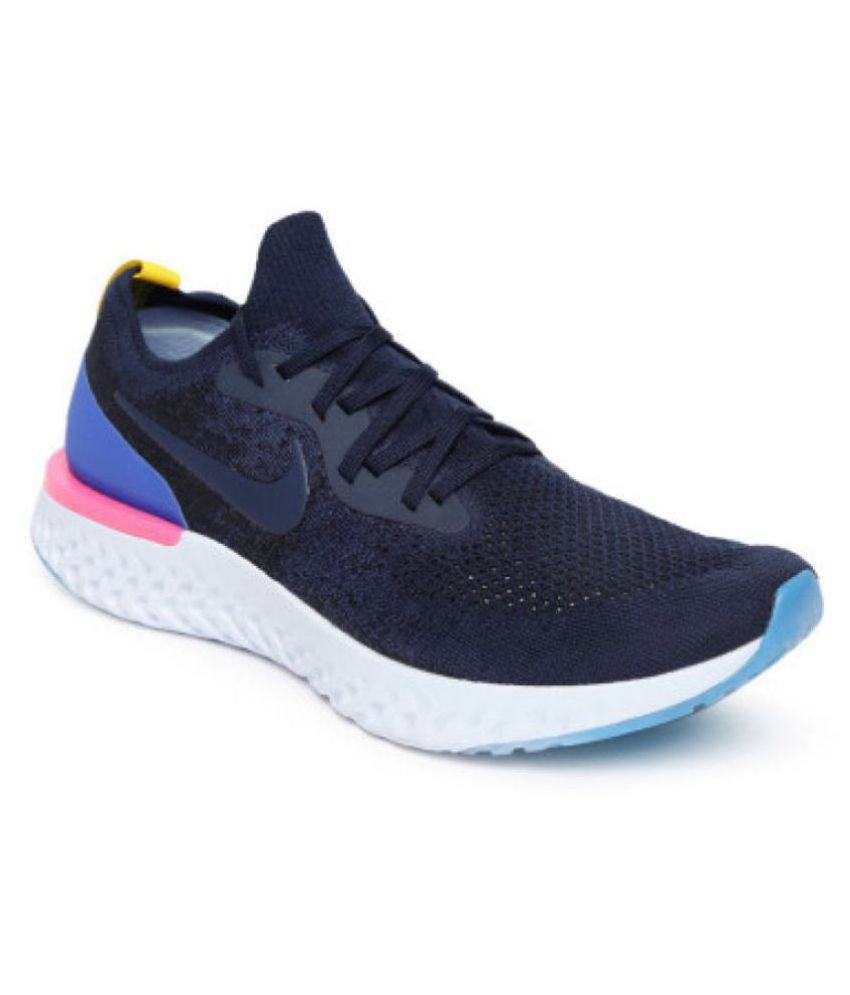 f460db41b3209 Nike epic react flyknit Blue Running Shoes - Buy Nike epic react flyknit  Blue Running Shoes Online at Best Prices in India on Snapdeal