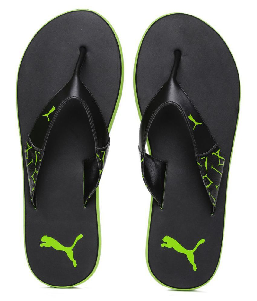 2cd3969270089 Puma Men winglet flip flop Black Price in India- Buy Puma Men winglet flip  flop Black Online at Snapdeal