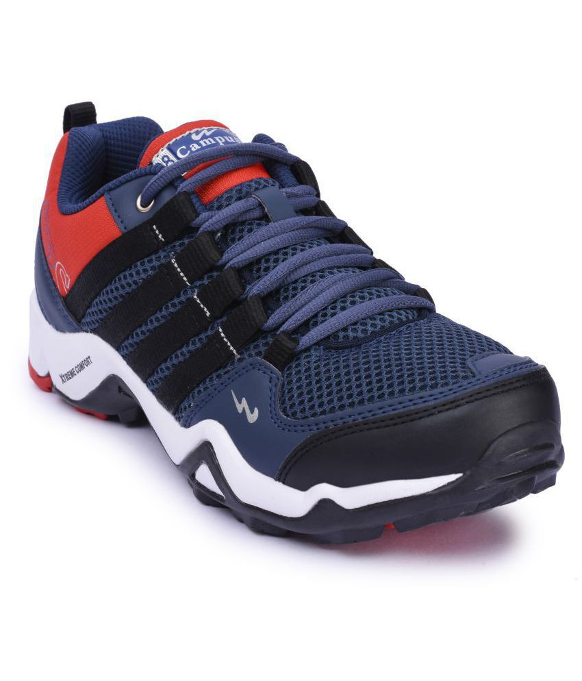 Campus TRIGGEER Navy Running Shoes