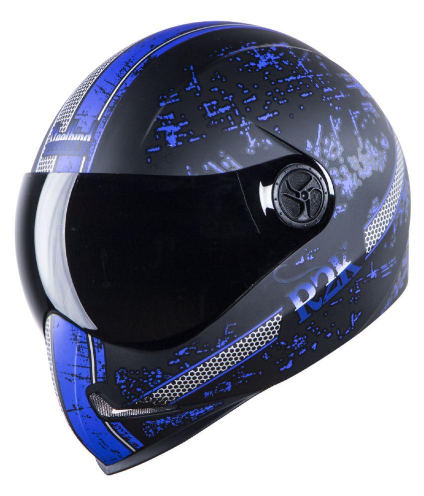 Steelbird ADONIS R2K - Full Face Helmet Blue M