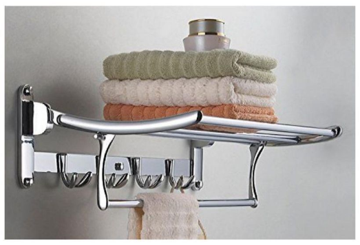 buy fortune folding stainless steel towel rack 24inch online at low rh snapdeal com