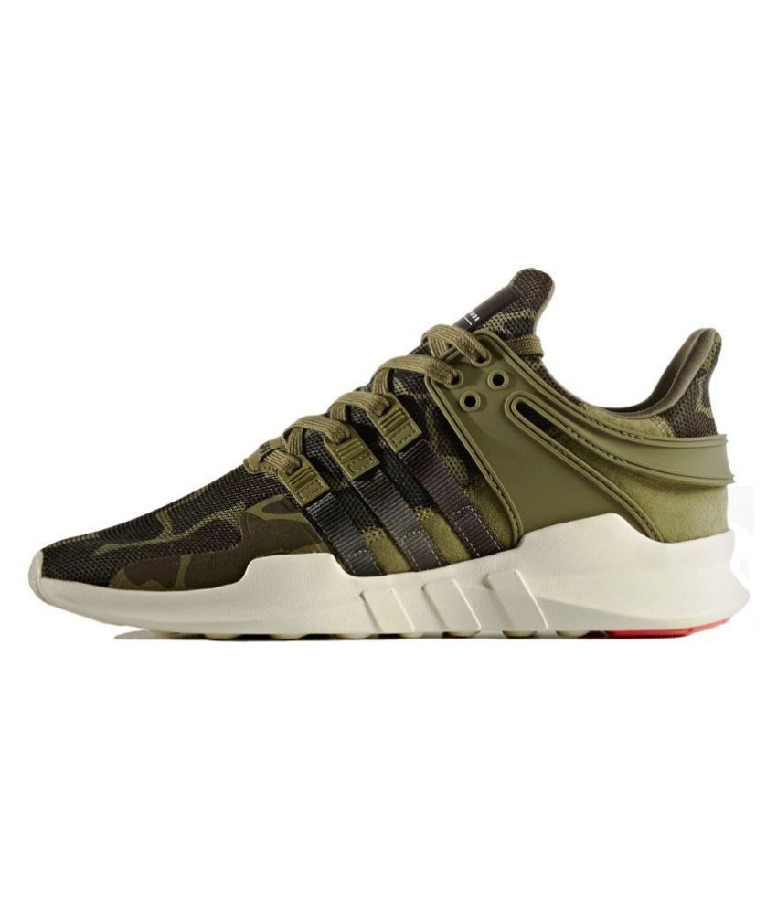 the latest 69965 83a43 Adidas EQT Support ADV Camo Green Running Shoes - Buy Adidas EQT Support ADV  Camo Green Running Shoes Online at Best Prices in India on Snapdeal