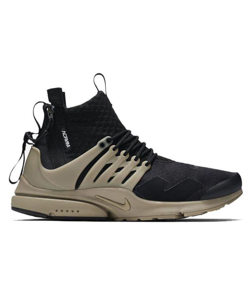 Nike Air Presto Acronym Black Running Shoes