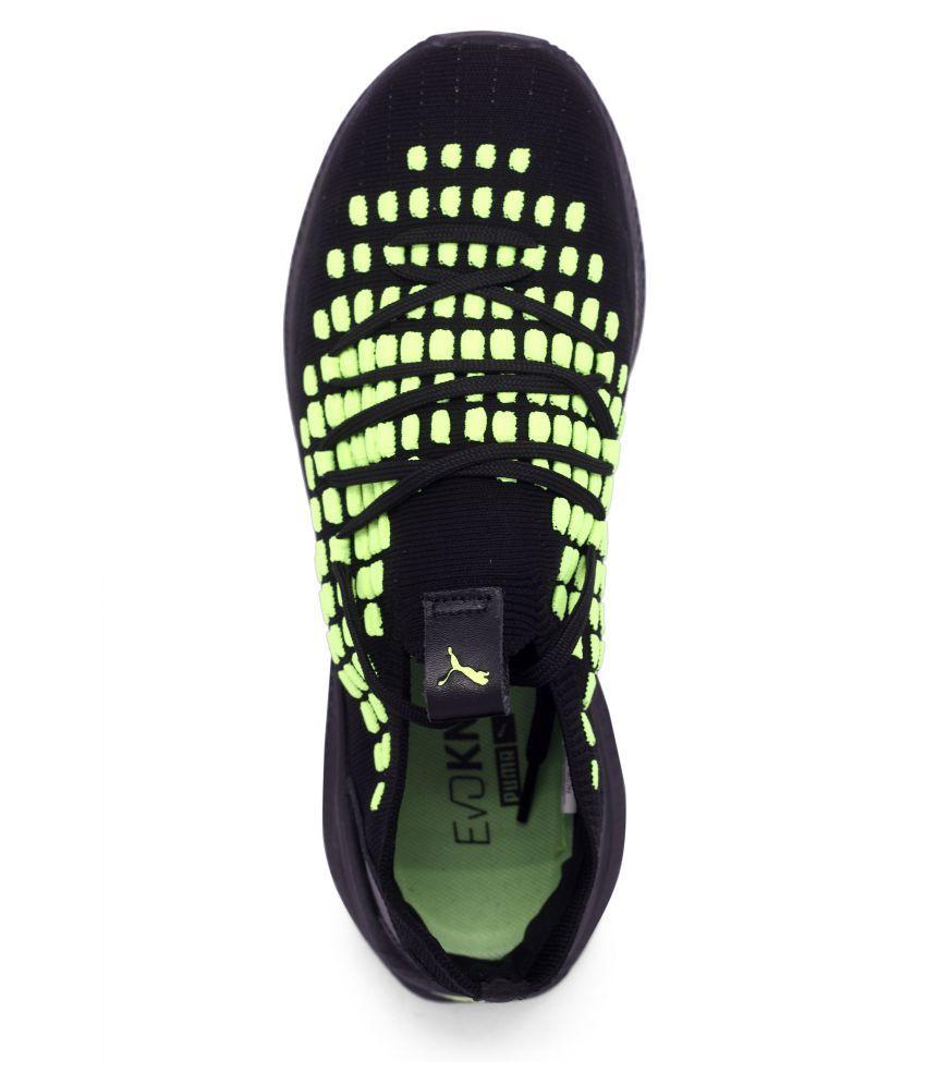 763c55a38e3964 Puma IGNITE EVOKNIT 2019 LTD Black Training Shoes - Buy Puma IGNITE ...