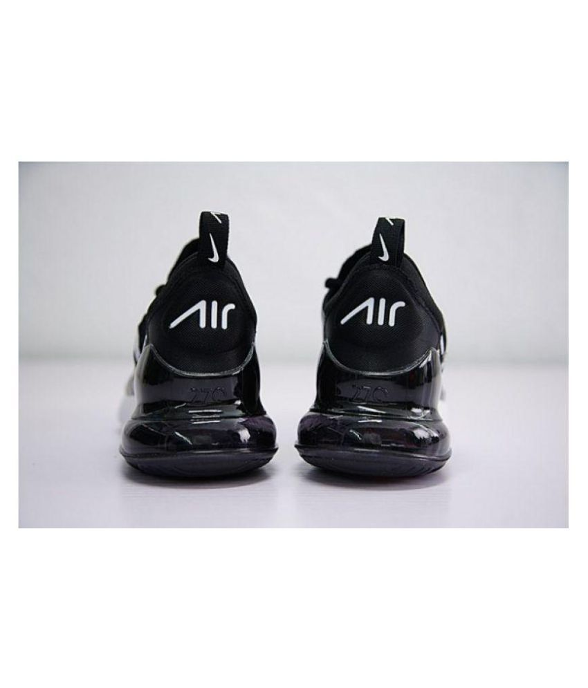 mar Mediterráneo digestión Haz un esfuerzo  Nike Nike Air Max 270 Supreme Edition Black Running Shoes - Buy Nike Nike  Air Max 270 Supreme Edition Black Running Shoes Online at Best Prices in  India on Snapdeal