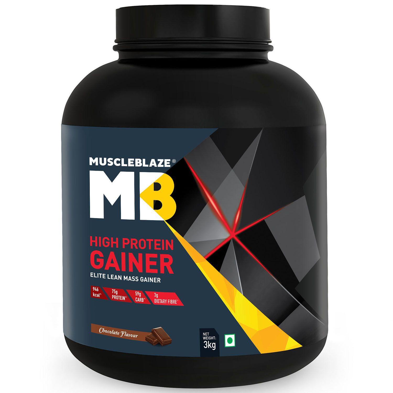 MuscleBlaze High Protein Elite Lean Mass Gainer 3 Kg Mass