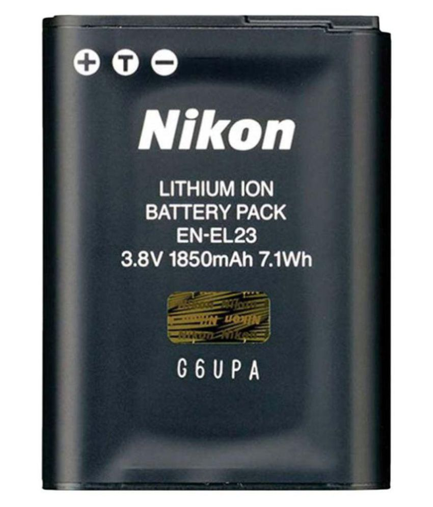 Nikon EN EL23 1850 Rechargeable Battery 1