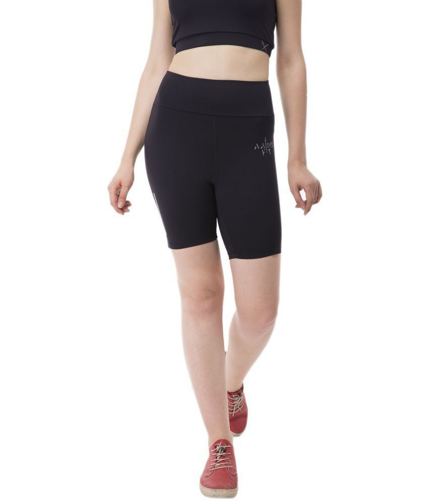 aarmy fit Lycra Shorts - Black