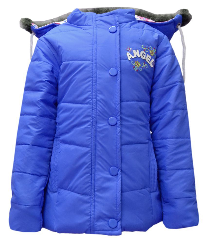 Come in Kids Girls Winter Wear Quilted Jacket.