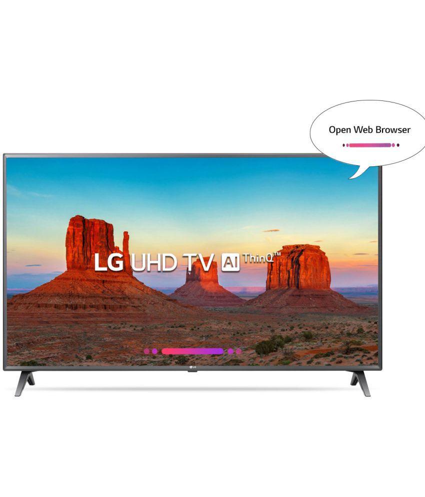 LG 43UK6560PTC 108 cm     Ultra HD  4K  LED Television