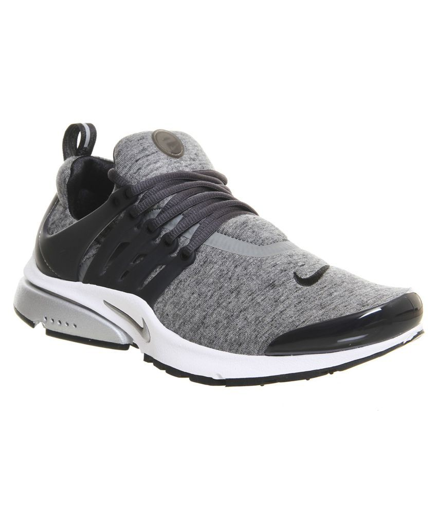 new styles 28299 27af5 Nike Presto Flyknit Grey Running Shoes Nike Presto Flyknit Grey Running  Shoes