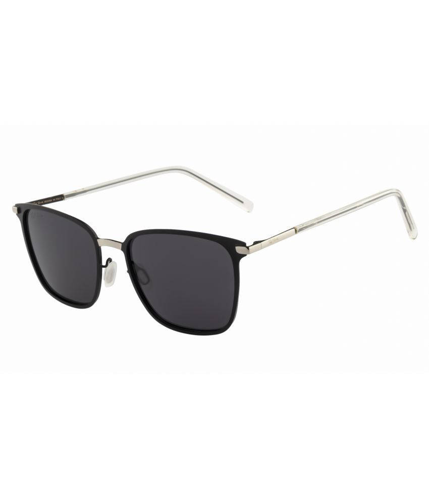 Ted Smith Grey Wayfarer Sunglasses ( TS-P0864 )