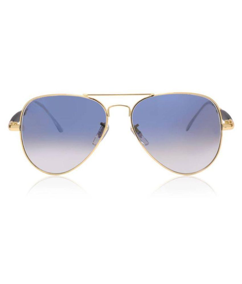 YAARA Blue Aviator Sunglasses ( 3517  blue shade )