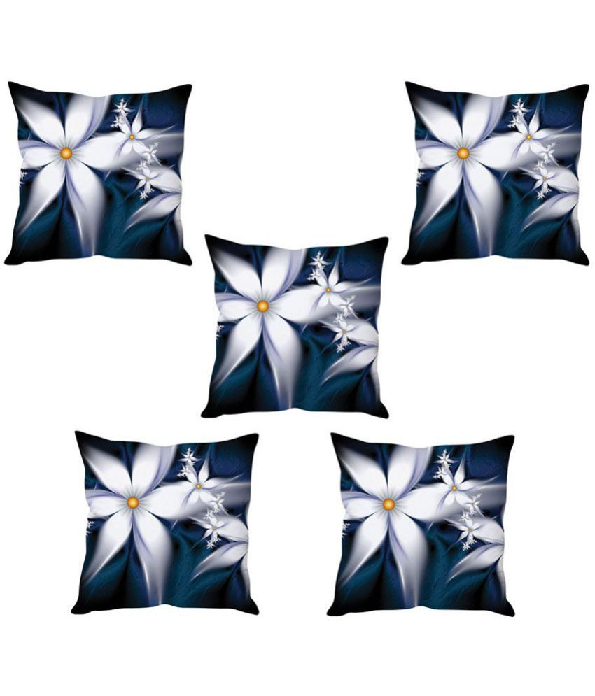 Prince Set of 2 Velvet Cushion Covers 40X40 cm (16X16)