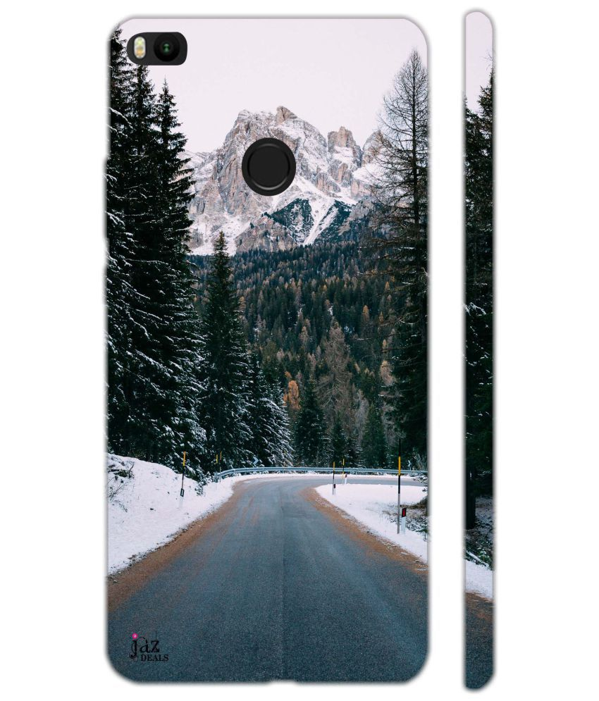XIAOMI MI MAX 2 Printed Cover By Jaz Deals Empty Highway Road Print Hard Cover