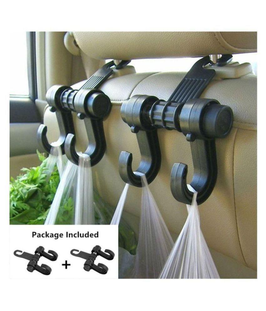 Hook Type Car Organizer/Holder for Rear - Black
