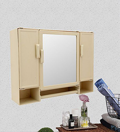 buy zahab plastic pulse 3 door large storage bathroom cabinet with rh snapdeal com