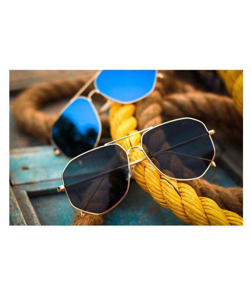 24148f67ecf GUCCI EYEWEAR Black Panto Sunglasses ( G15 ) - Buy GUCCI EYEWEAR Black  Panto Sunglasses ( G15 ) Online at Low Price - Snapdeal