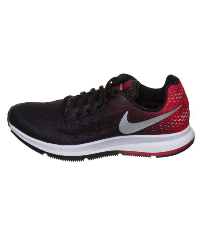 Nike AIR ZOOM PEGASUS 33 Red Running Shoes