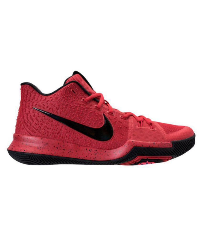 100% authentic b3e44 49d65 Nike kyrie 3 Red Basketball Shoes