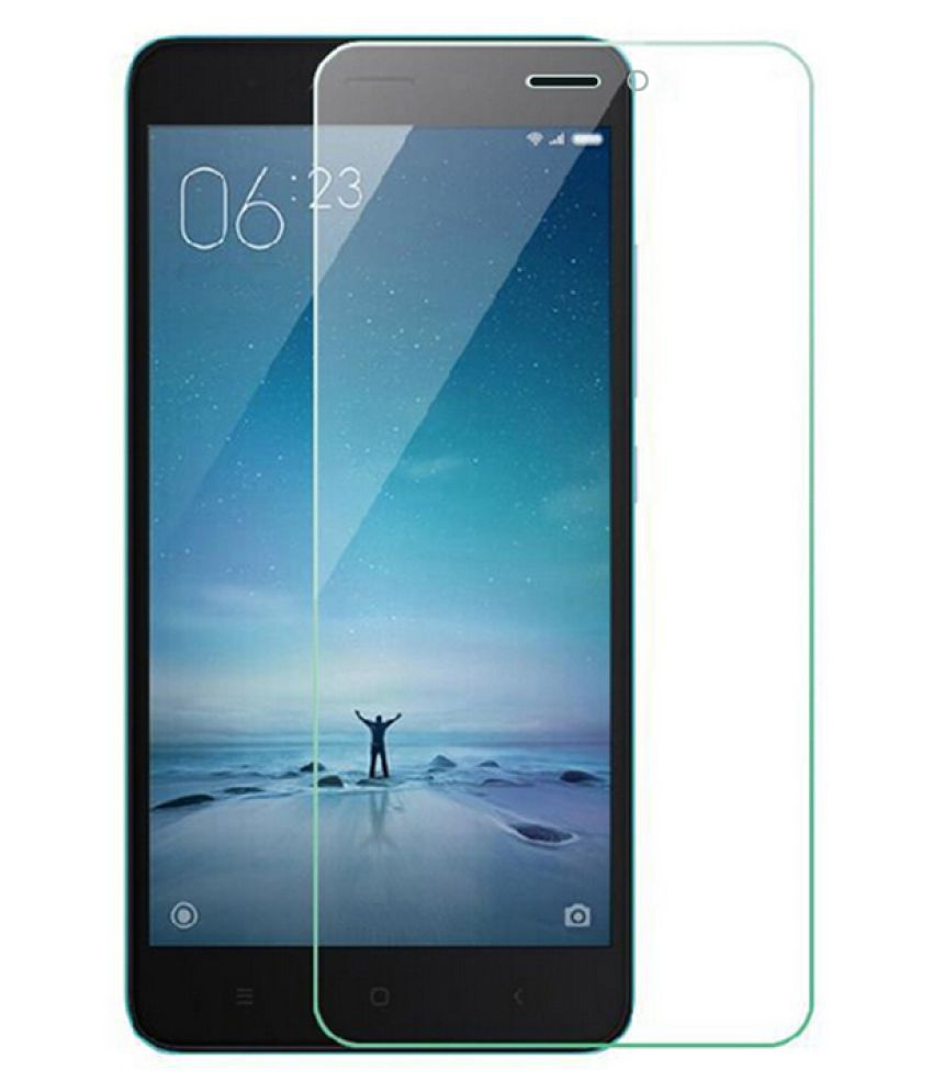 Xiaomi Redmi 3S Tempered Glass Screen Guard By Buyday HD Tempered Glass