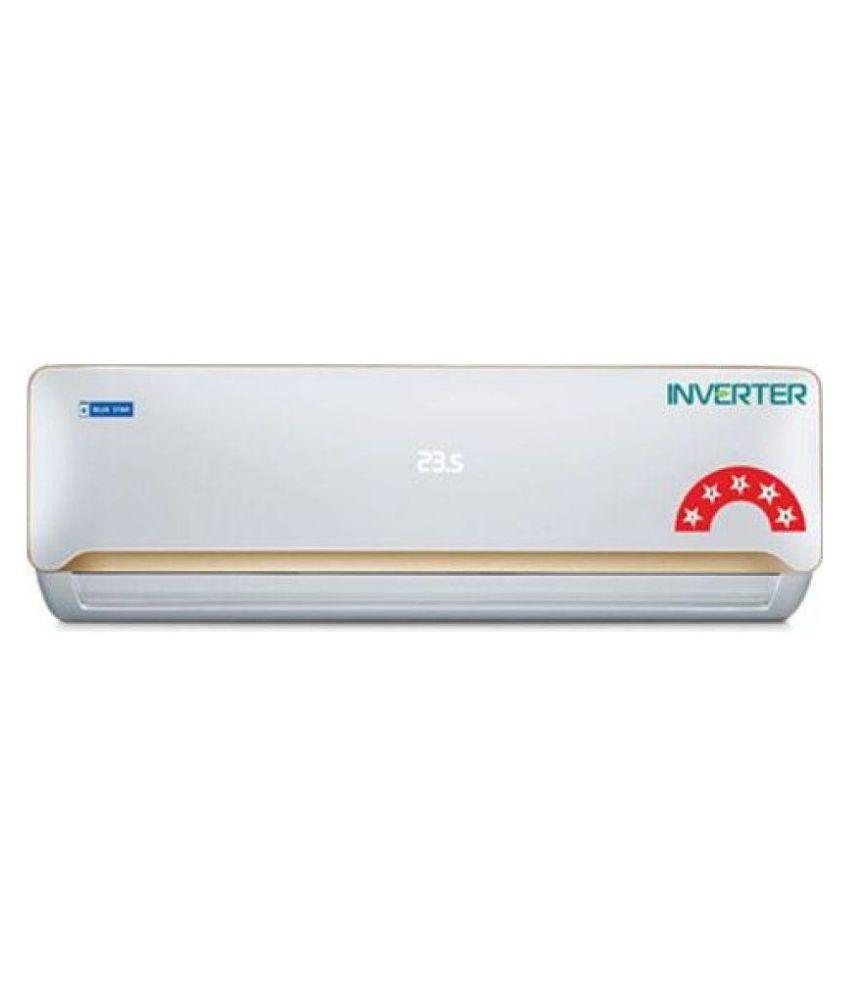 blue star 1 5 ton 5 star 5cnhw18qatx split air conditioner price in rh snapdeal com