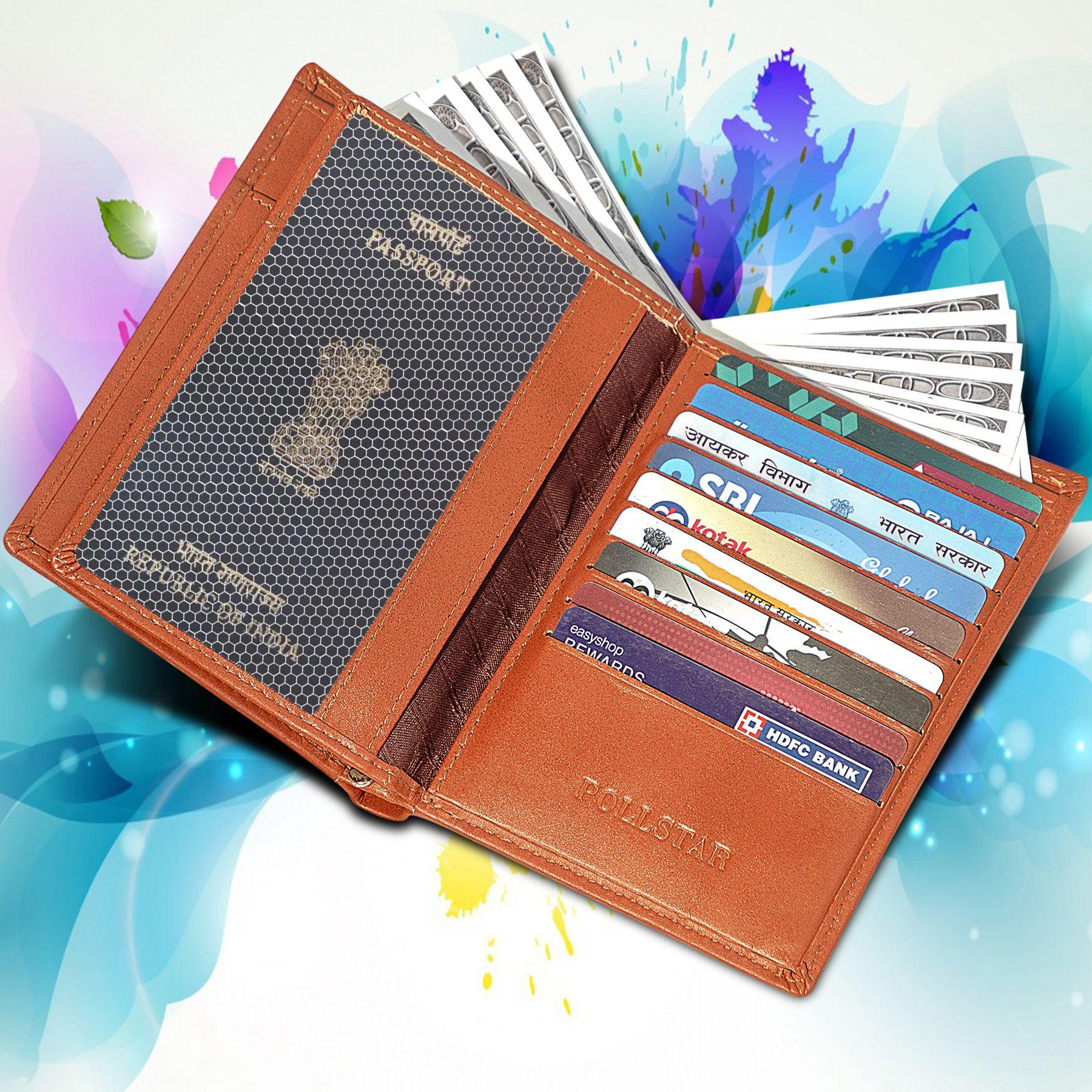 POLLSTAR Tan Wallet