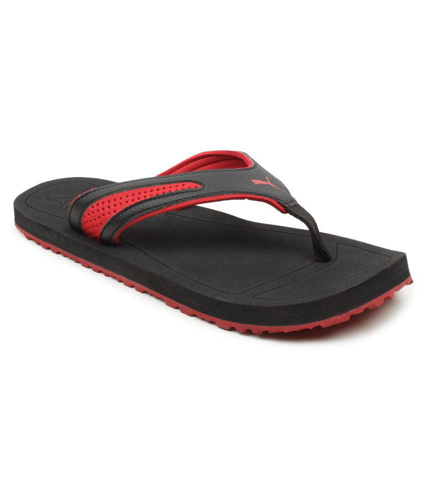 Puma Black Thong Flip Flop Price in India- Buy Puma Black Thong Flip Flop  Online at Snapdeal b55aaf953