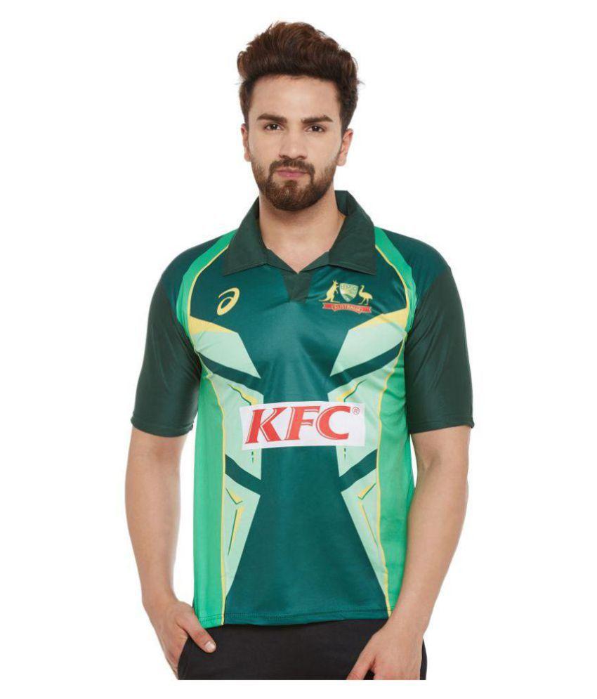 Sportigoo Unisex Australia Cricket Jersey
