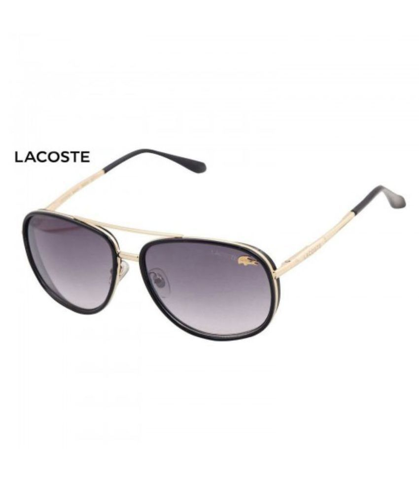 39359675bc LACOSTE SUNGlASS Purple Round Sunglasses ( 001 ) - Buy LACOSTE SUNGlASS  Purple Round Sunglasses ( 001 ) Online at Low Price - Snapdeal