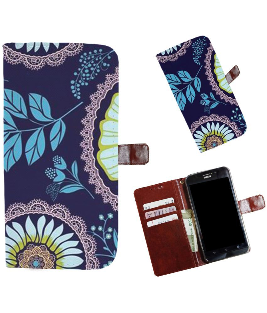 Nokia 6.1 Flip Cover by Snooky - Multi