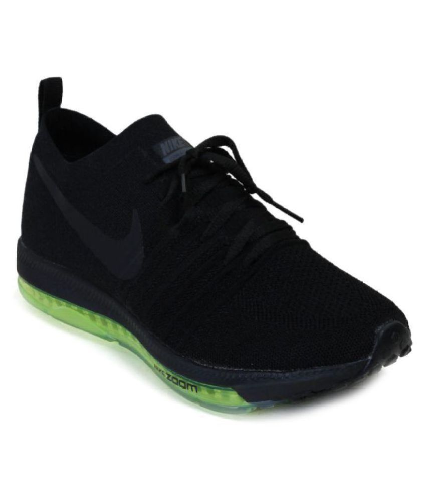 Nike 2017 ZOOM ALL OUT Black Running Shoes - Buy Nike 2017 ZOOM ALL OUT  Black Running Shoes Online at Best Prices in India on Snapdeal c23a3cd7b17a