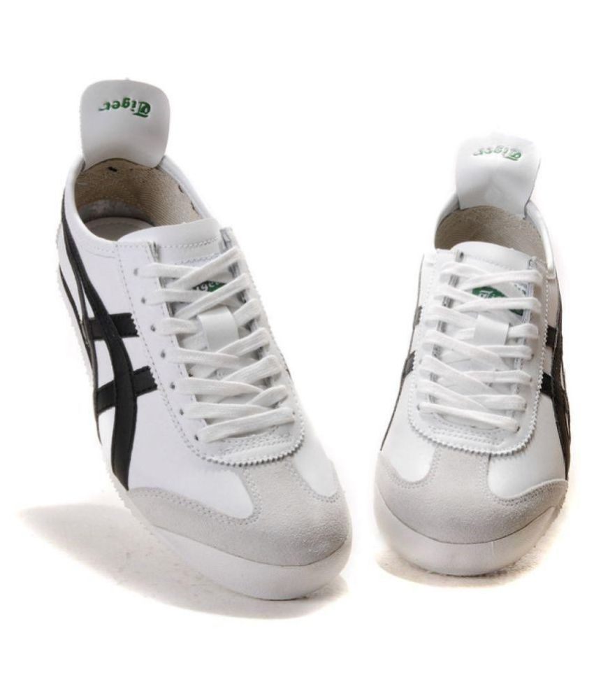 premium selection b0242 23685 Asics Onitsuka Tiger Mexico 66 White Running Shoes