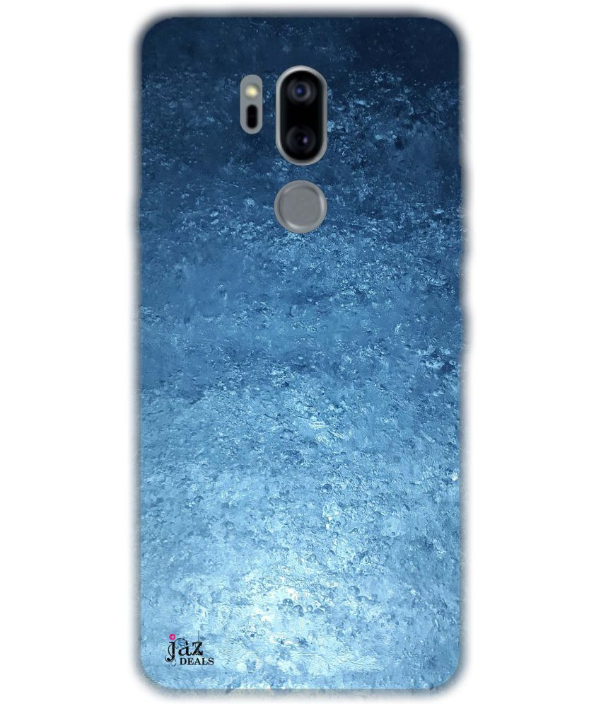 LG G7+ ThinQ TM Printed Cover By Jaz Deals Ice Print Hard Back Cover