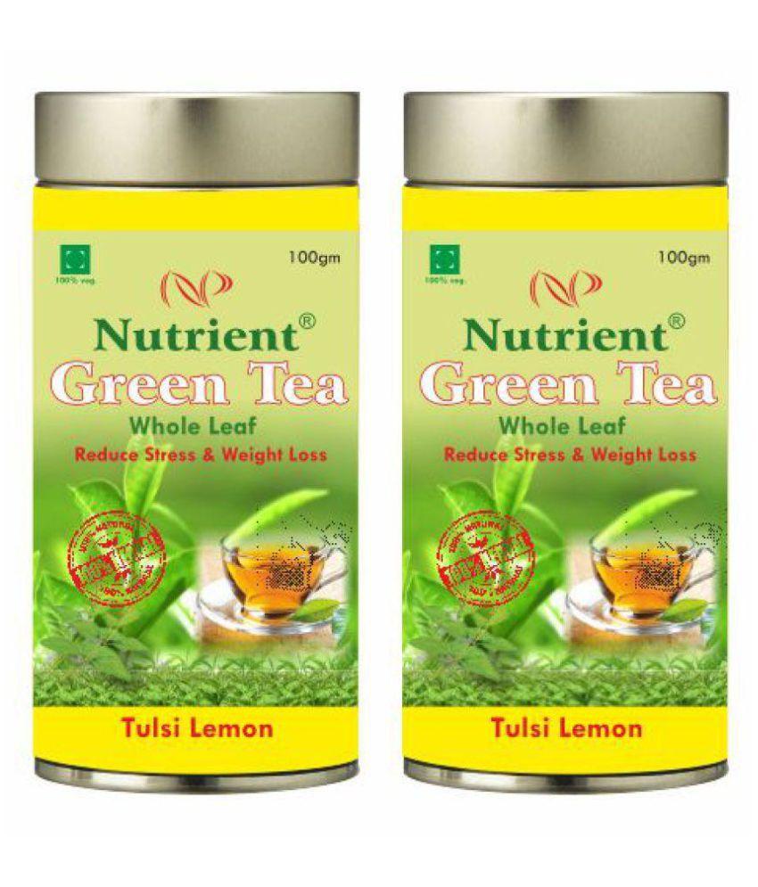 Nutrient Green Tea Loose Leaf 200 gm Pack of 2