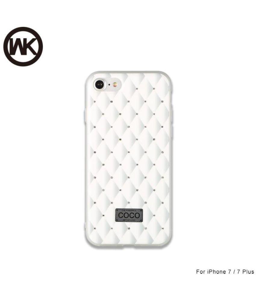the best attitude 87826 df346 iPhone 7 Plain Cases WK Design - White WK Coco Phone Case