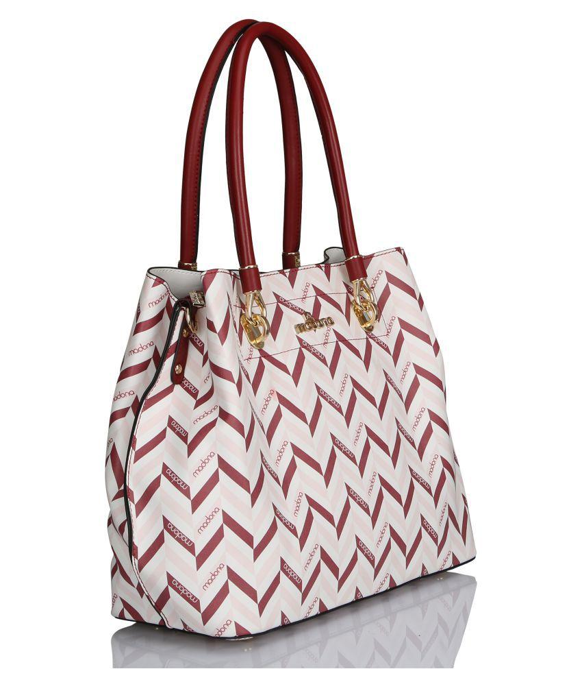 Madona Pink P.U. Sling Bag