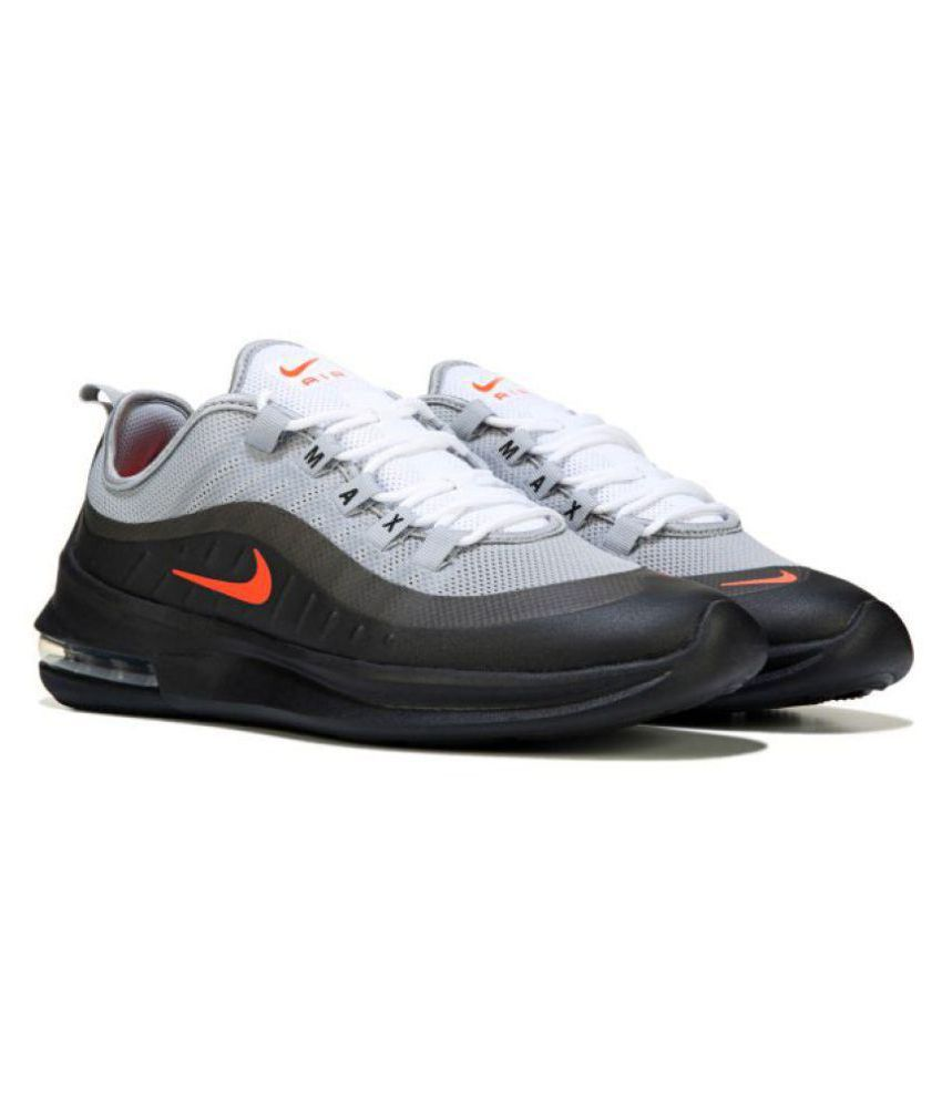 buy online 539ac d3c99 Nike Air Max Axis Grey Running Shoes - Buy Nike Air Max Axis Grey Running  Shoes Online at Best Prices in India on Snapdeal