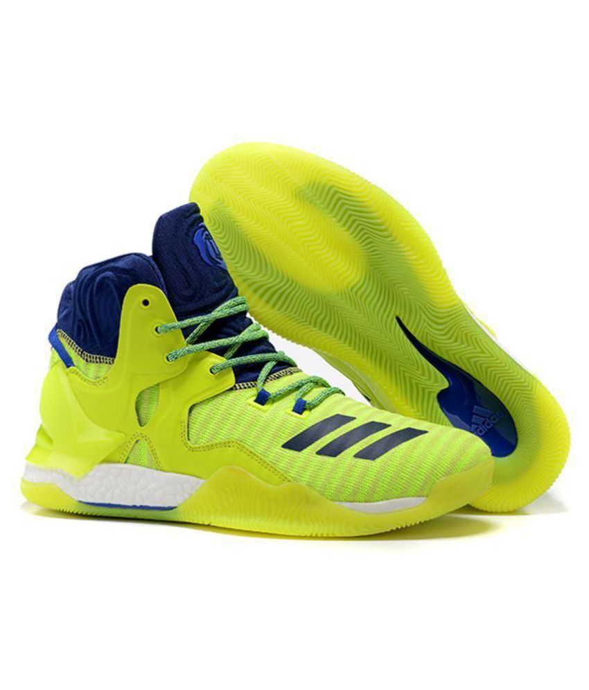 be7e0b5d65dc Adidas D ROSE 7 PRIMEKNIT Green Basketball Shoes - Buy Adidas D ROSE 7  PRIMEKNIT Green Basketball Shoes Online at Best Prices in India on Snapdeal