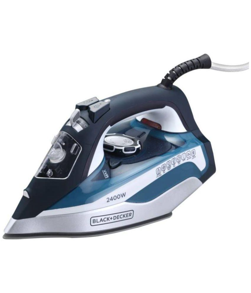 Black and Decker BXIR2401IN Steam Iron blue