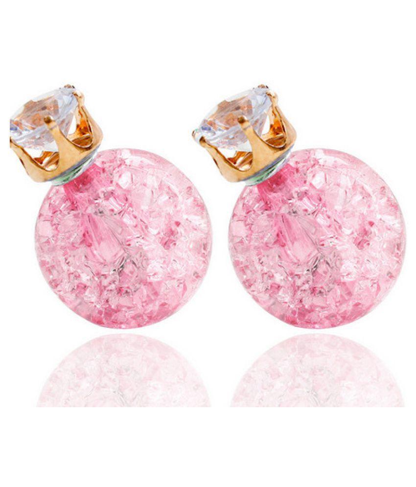 Levaso Fashion Earrings Ear Studs Resin Jewelry Multi Color