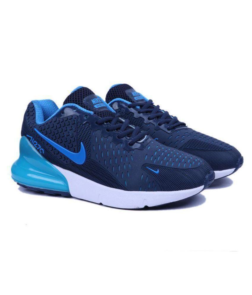super popular c9e2a 728ea Nike Airmax 270 Flair KPU Blue Running Shoes ...