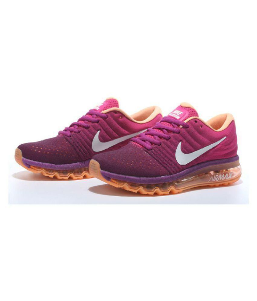 8896cfba3e17e ... france nike air max 2017 purple womens running shoes 91eca 735f4