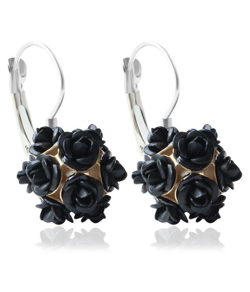 Levaso Fashion Earrings Ear Studs Alloy Jewelry White