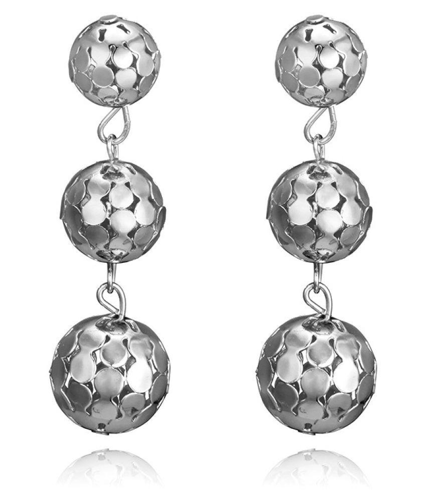 Levaso Fashion Earrings Ear Studs Alloy Tassels Jewelry Golden