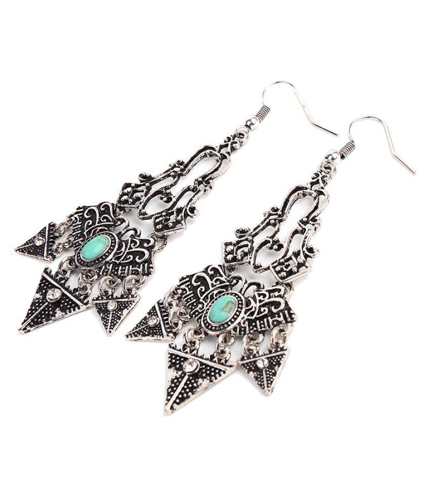 Levaso Fashion Earrings Ear Studs Alloy Jewelry Silver