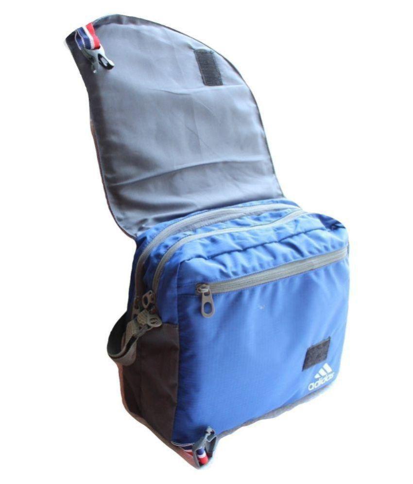ae1ffe4425 Adidas Blue Casual Messenger Bag - Buy Adidas Blue Casual Messenger ...