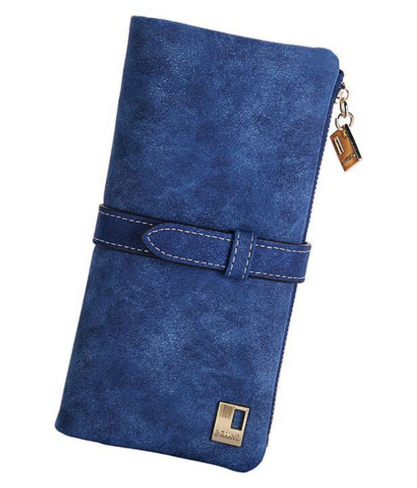 Elios Blue Wallet