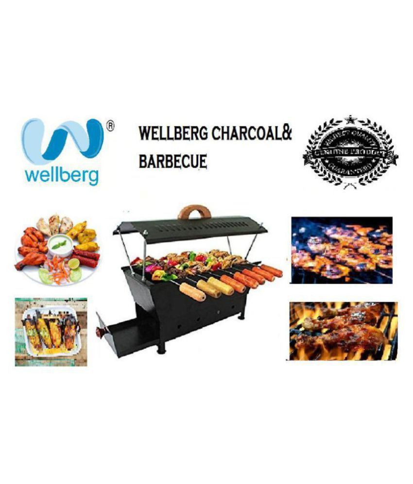 980ddf8832a Wellberg barbecue in 8 skewers(anghiti) Charcoal Barbeque Price in India -  Buy Wellberg barbecue in 8 skewers(anghiti) Charcoal Barbeque Online on  Snapdeal